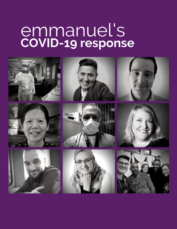 Emmanuel's COVID-19 response - image of grads and students